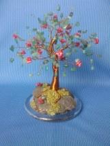 image cu copacel feng shui cu aventurin si coral