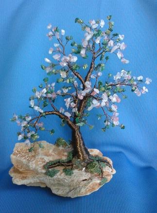 copacel-feng-shui-cu-agata-verde-peridot-cuart-roz-strawberry-cuart