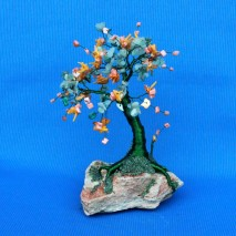 wire-tree-sculpture-with-agate-jade-prehnite-orange-shell-flakes-cut-and-orange-coral