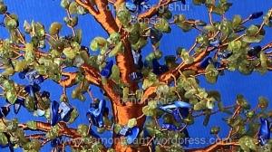 Copacul-Paradis - detaliu
